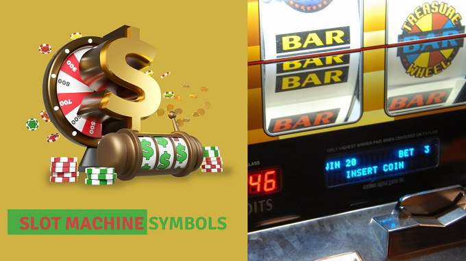 What are the types of slot machine symbols?
