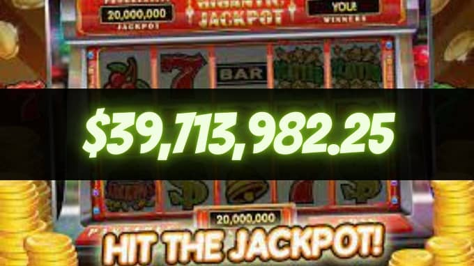 What is the world record slot jackpot hits?