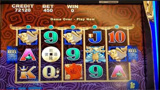 What are the slot machines that have higher Return To Player percentage?