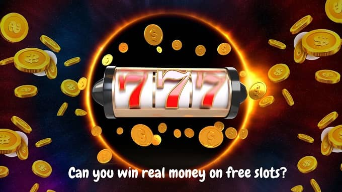 Can you win real money on free slots?