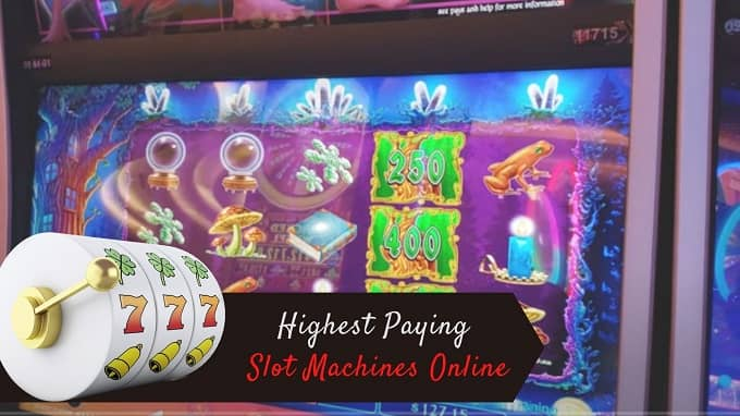 What are the highest-paying slot machines online?