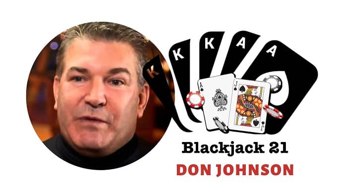 How did Don Johnson become a famous gambler of all time?
