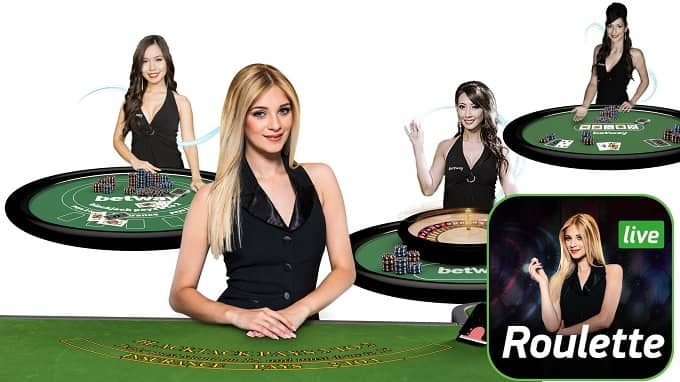 What is a casino live croupier?