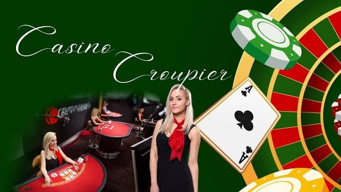 what is a croupier