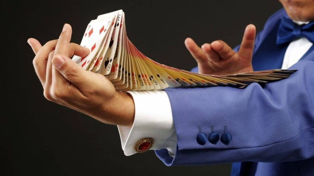 Can a magician win in a Blackjack game?