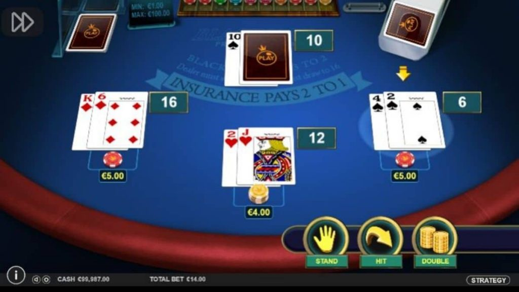 What are the odds of winning at Blackjack in Singapore?