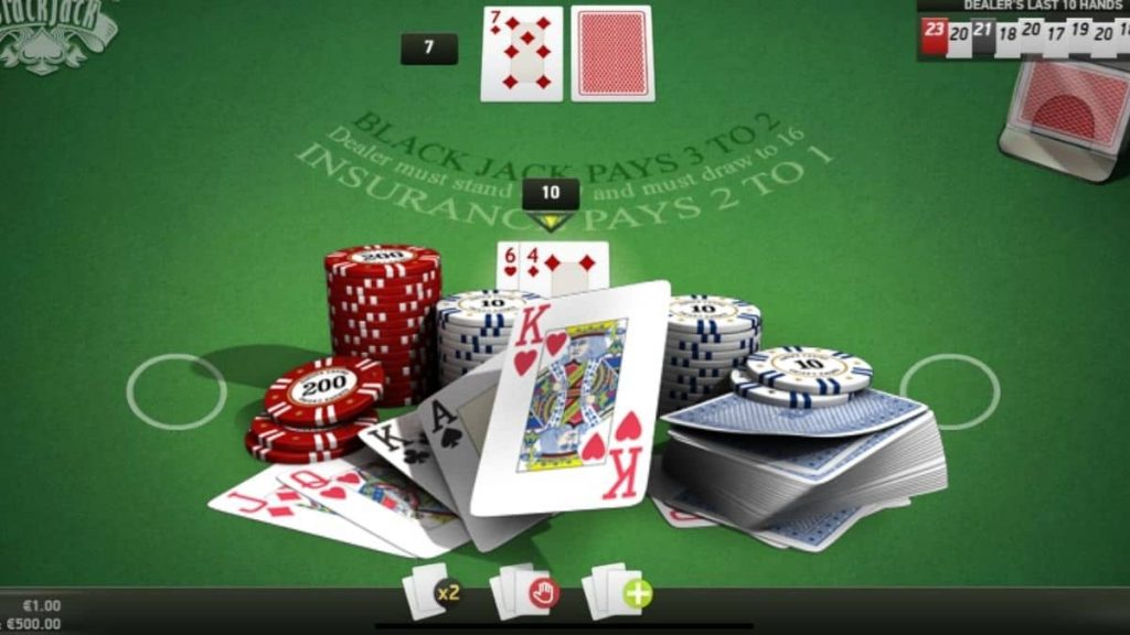 What are the Blackjack odds?